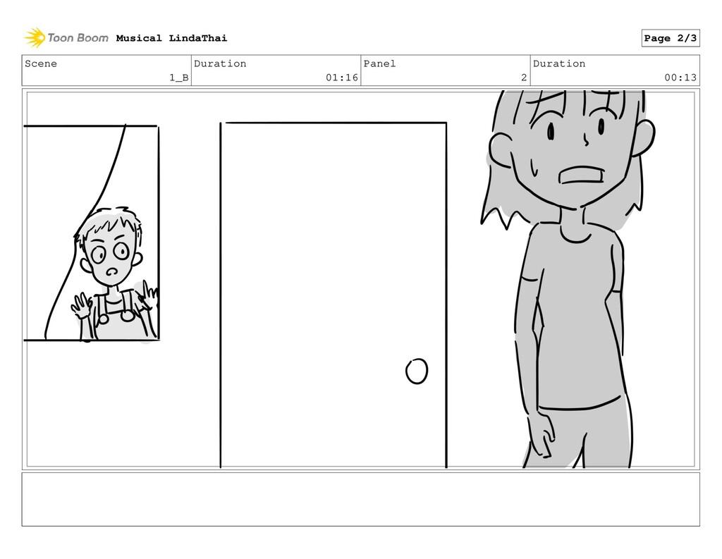 Scene 1_B Duration 01:16 Panel 2 Duration 00:13...