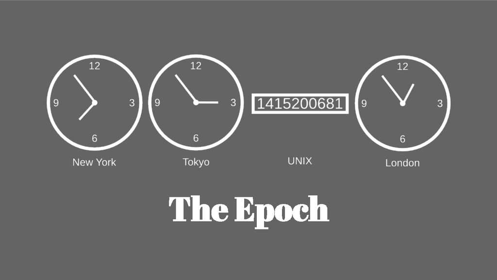 The Epoch