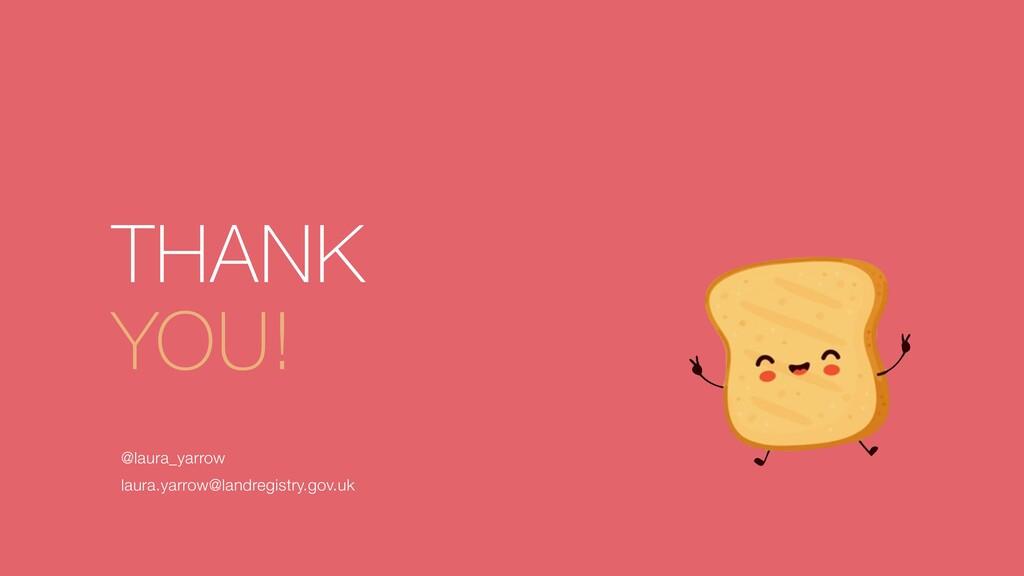 THANK   YOU! @laura_yarrow   laura.yarrow@landr...