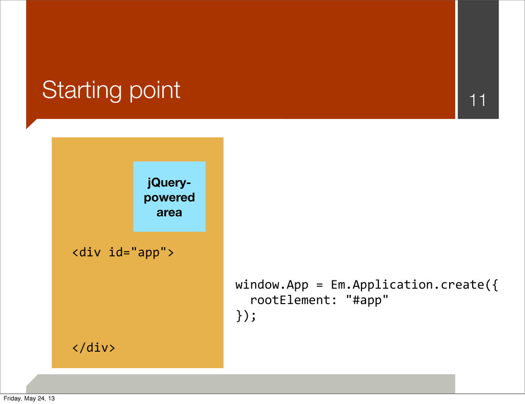 Starting point 11 jQuery- powered area window.A...