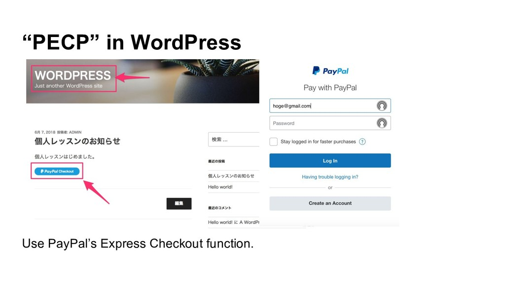 """""""PECP"""" in WordPress Use PayPal's Express Checko..."""