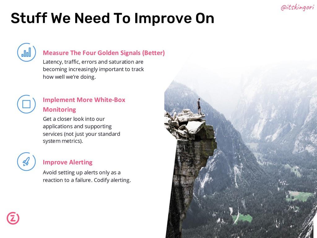 Measure The Four Golden Signals (Better) Implem...