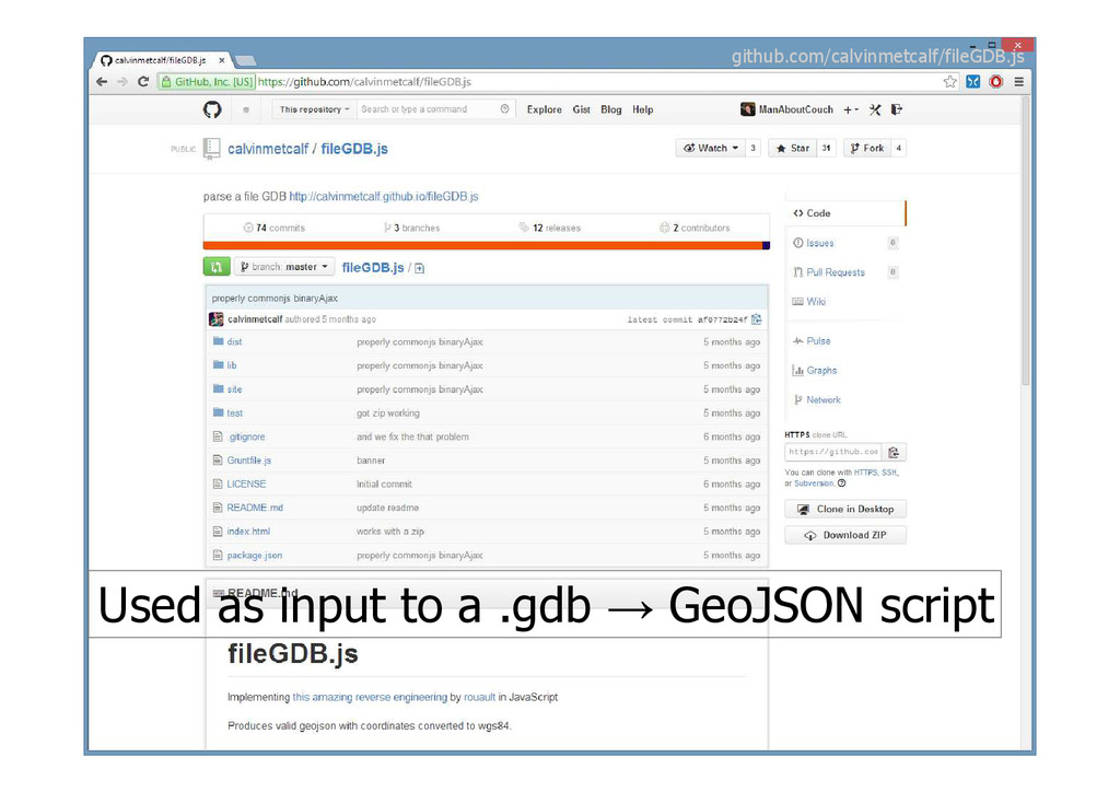 Used as input to a .gdb → GeoJSON script github...