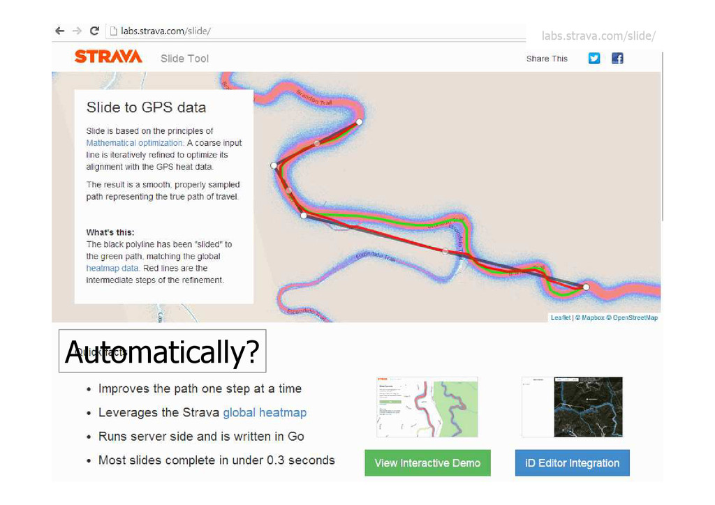 Automatically? labs.strava.com/slide/