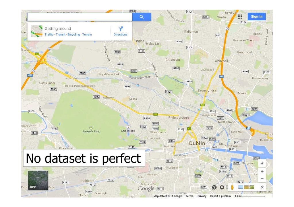 No dataset is perfect