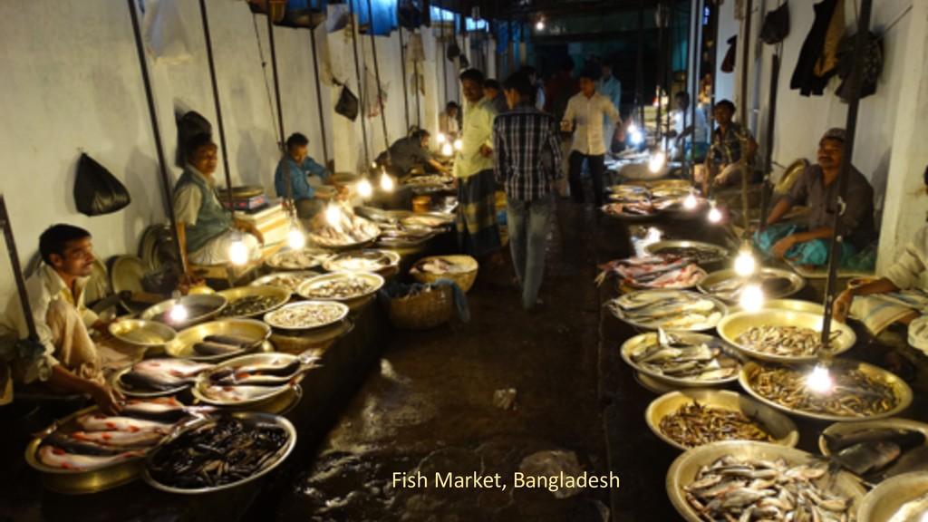 3 Fish Market, Bangladesh