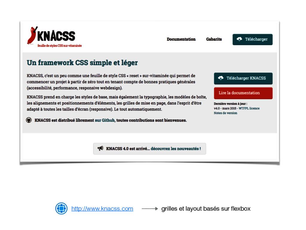 http://www.knacss.com grilles et layout basés s...