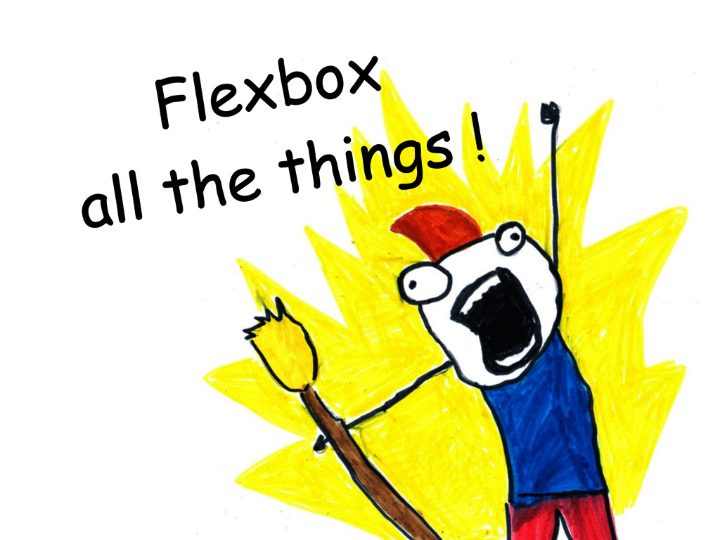 Flexbox all the things !