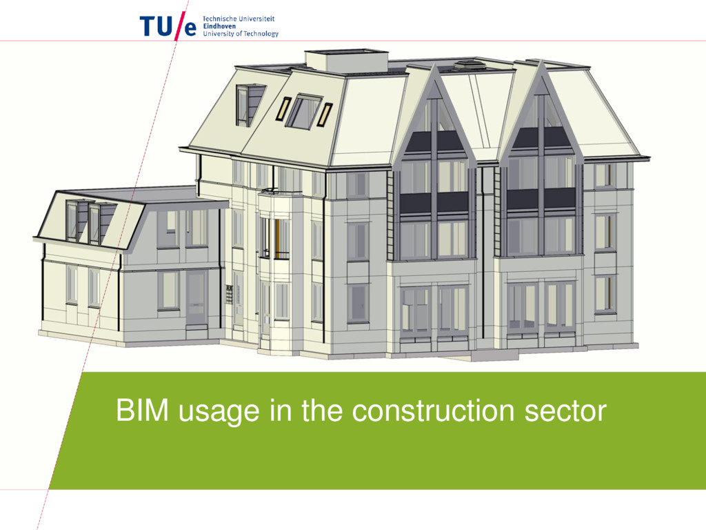BIM usage in the construction sector