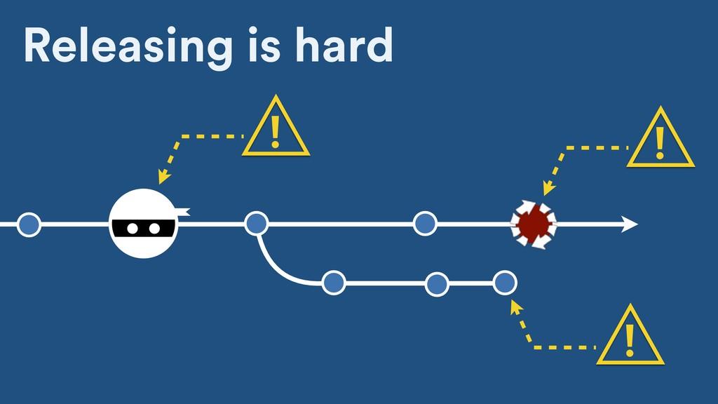 Releasing is hard ! ! !