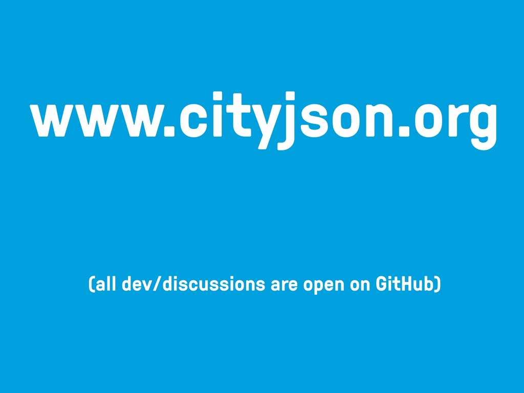(all dev/discussions are open on GitHub) www.ci...