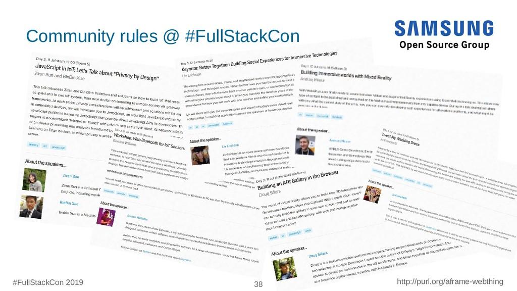 #FullStackCon 2019 38 http://purl.org/aframe-we...