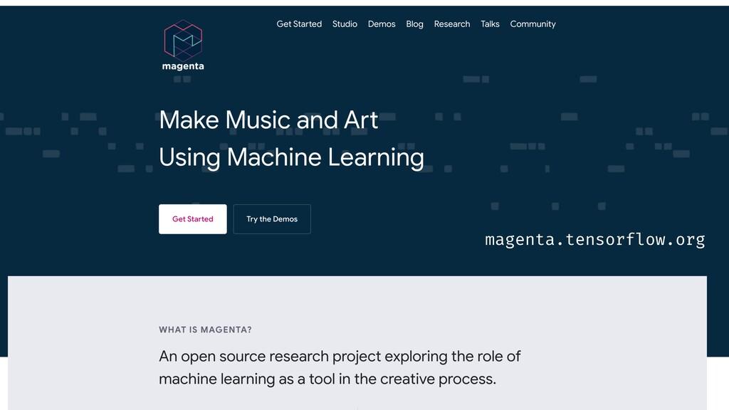 magenta.tensorflow.org