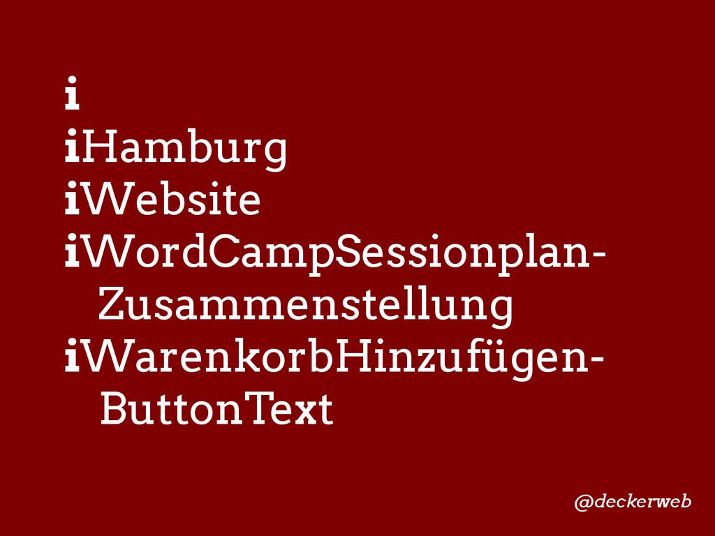 i iHamburg iWebsite iWordCampSessionplan- Zusam...