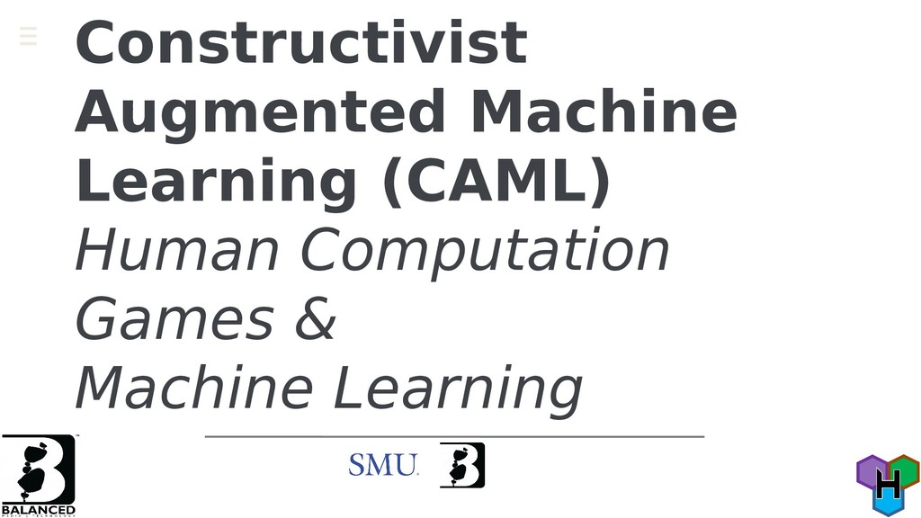 Constructivist Augmented Machine Learning (CAML...