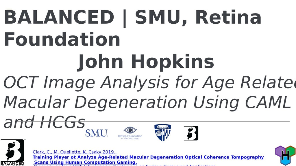 BALANCED | SMU, Retina Foundation John Hopkins ...