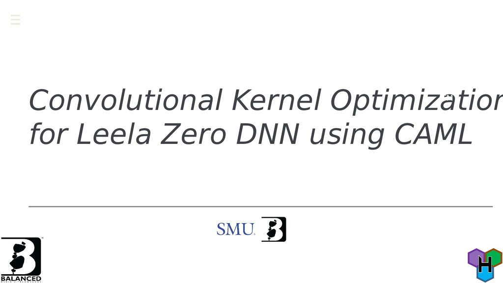 Convolutional Kernel Optimization for Leela Zer...