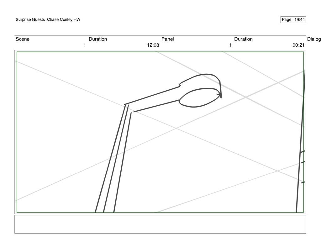 Scene 1 Duration 12:08 Panel 1 Duration 00:21 D...