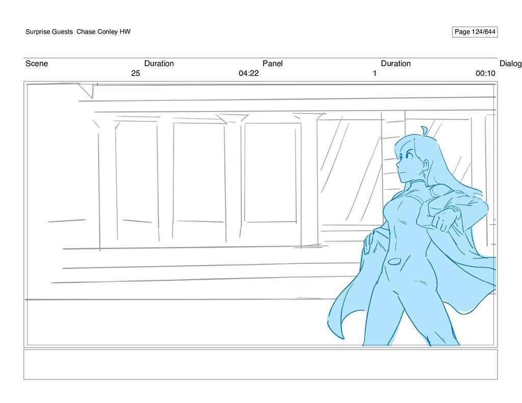 Scene 25 Duration 04:22 Panel 1 Duration 00:10 ...