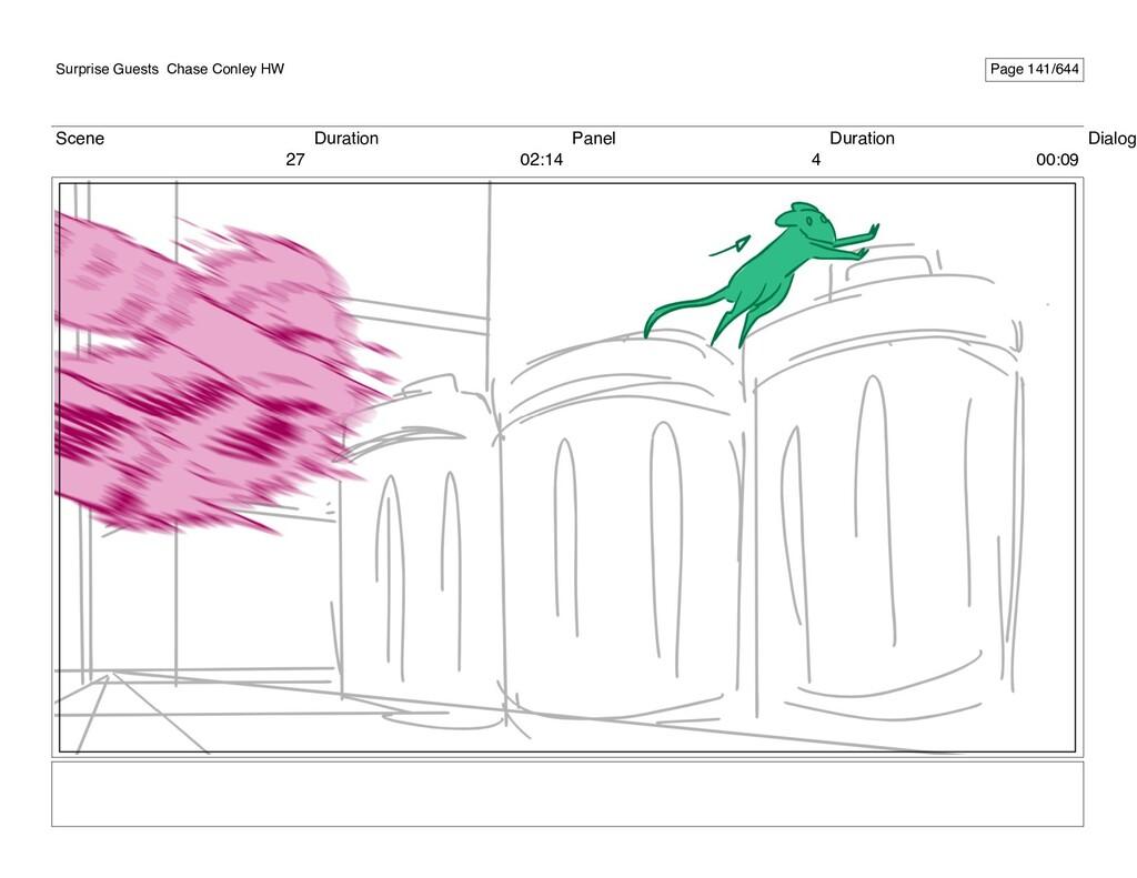 Scene 27 Duration 02:14 Panel 4 Duration 00:09 ...