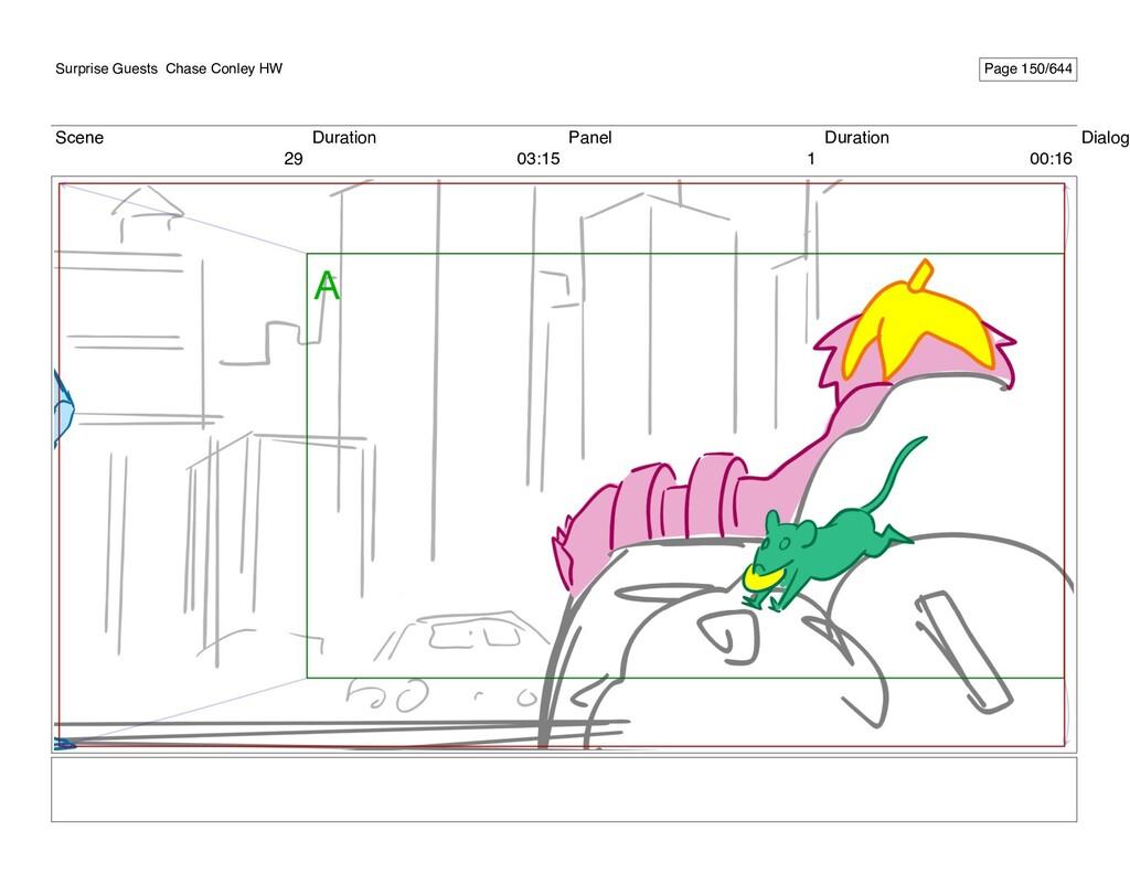 Scene 29 Duration 03:15 Panel 1 Duration 00:16 ...