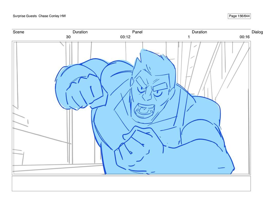 Scene 30 Duration 03:12 Panel 1 Duration 00:16 ...
