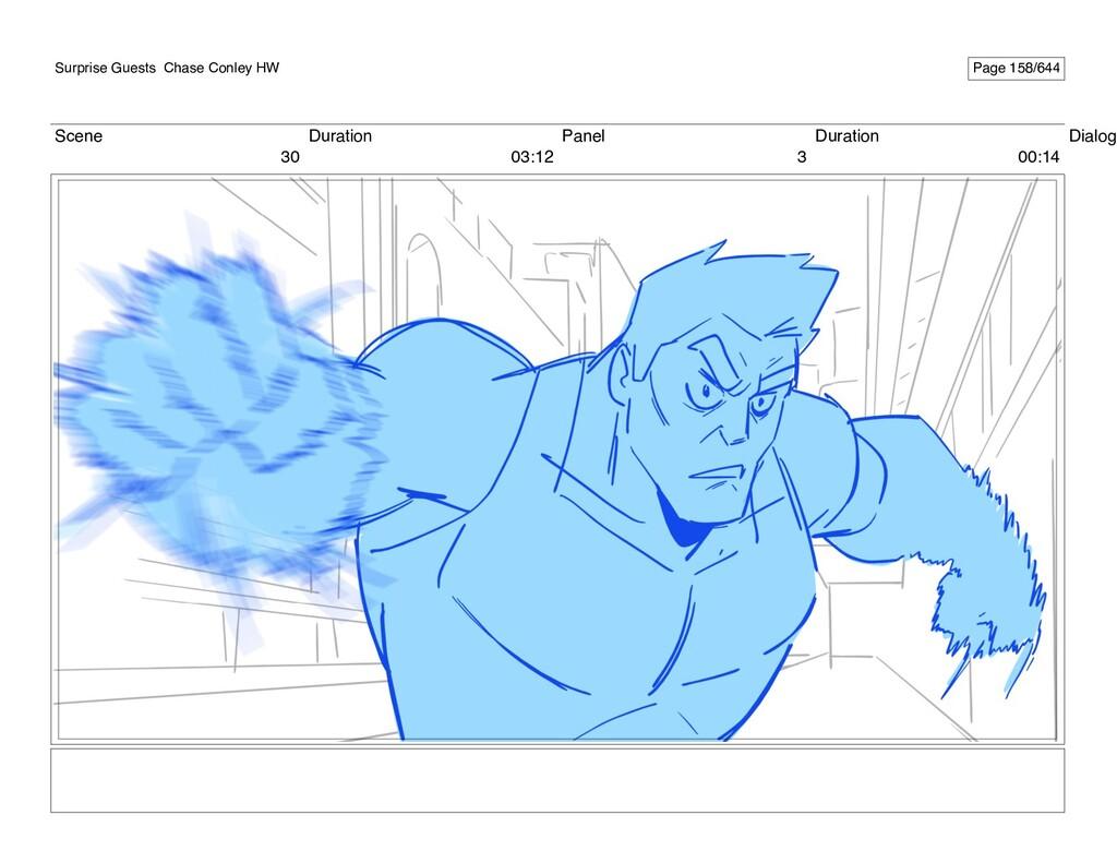 Scene 30 Duration 03:12 Panel 3 Duration 00:14 ...