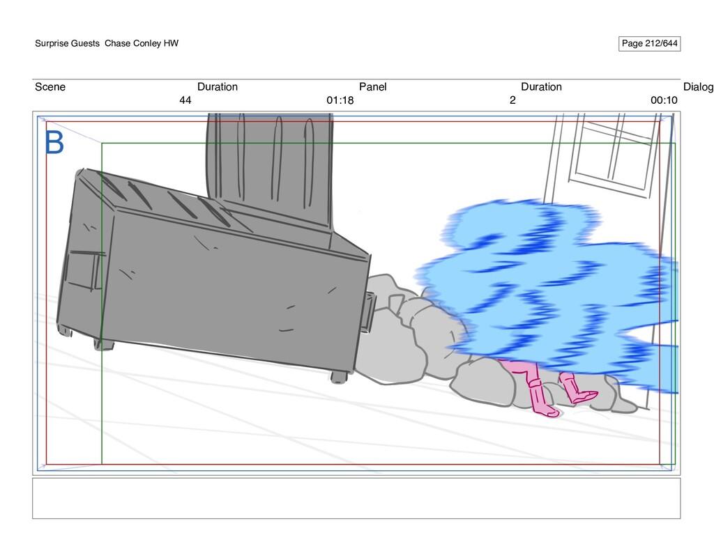 Scene 44 Duration 01:18 Panel 2 Duration 00:10 ...