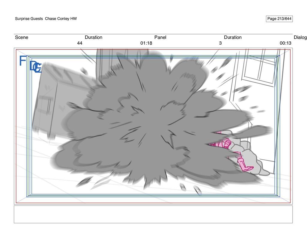 Scene 44 Duration 01:18 Panel 3 Duration 00:13 ...