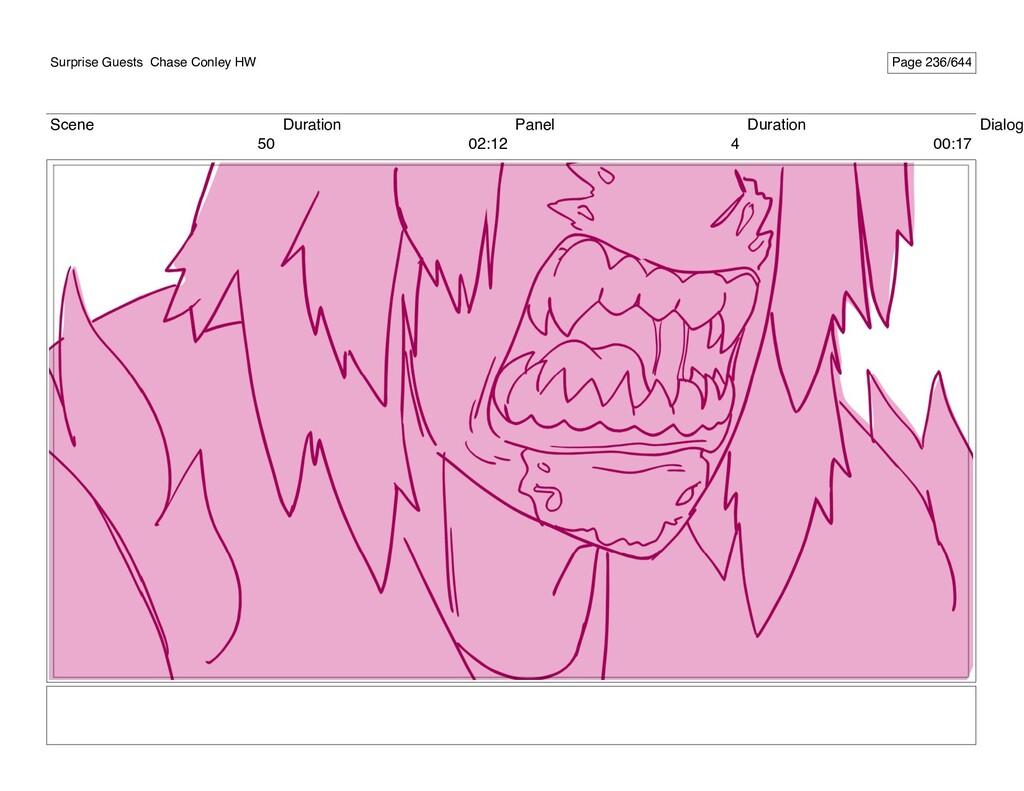Scene 50 Duration 02:12 Panel 4 Duration 00:17 ...