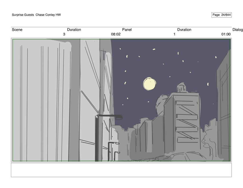 Scene 3 Duration 08:02 Panel 1 Duration 01:00 D...