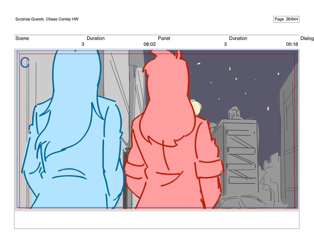 Scene 3 Duration 08:02 Panel 3 Duration 00:18 D...