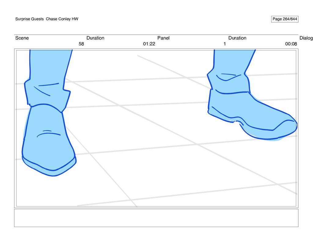 Scene 58 Duration 01:22 Panel 1 Duration 00:08 ...