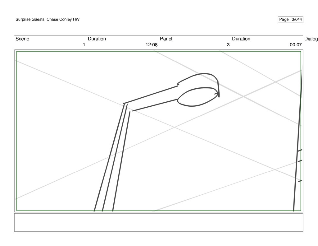 Scene 1 Duration 12:08 Panel 3 Duration 00:07 D...
