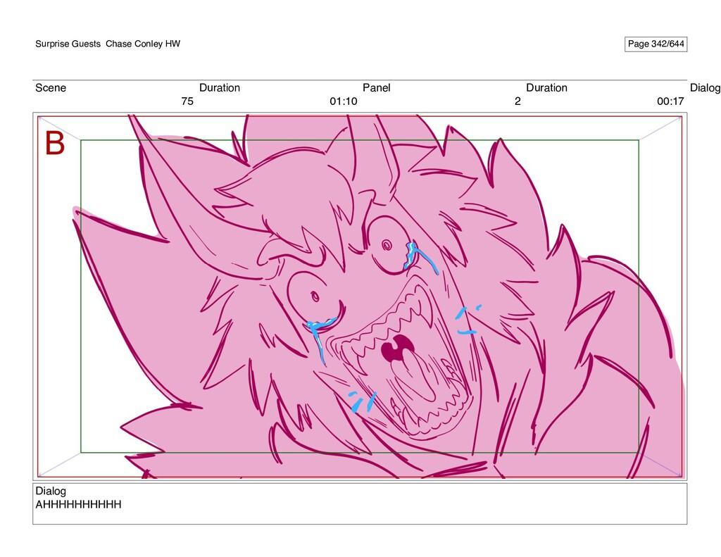 Scene 75 Duration 01:10 Panel 2 Duration 00:17 ...