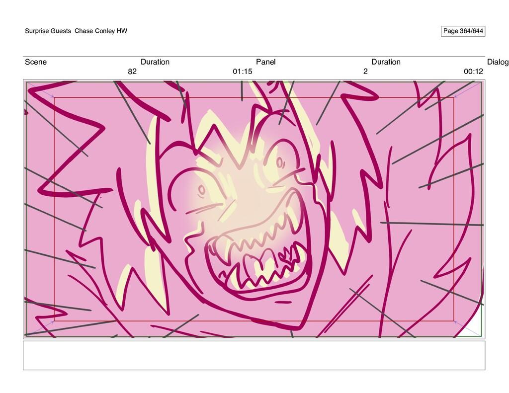 Scene 82 Duration 01:15 Panel 2 Duration 00:12 ...