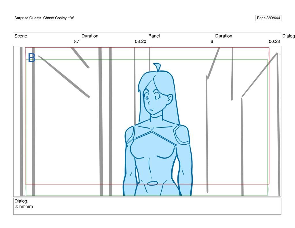 Scene 87 Duration 03:20 Panel 6 Duration 00:23 ...