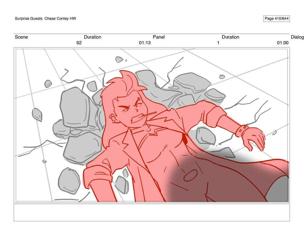 Scene 92 Duration 01:13 Panel 1 Duration 01:00 ...