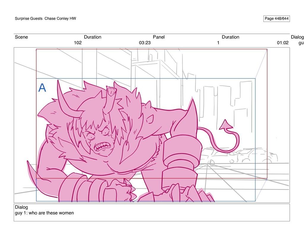 Scene 102 Duration 03:23 Panel 1 Duration 01:02...