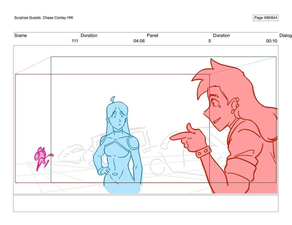 Scene 111 Duration 04:06 Panel 5 Duration 00:10...