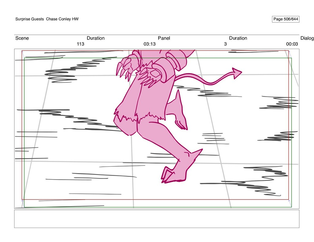 Scene 113 Duration 03:13 Panel 3 Duration 00:03...