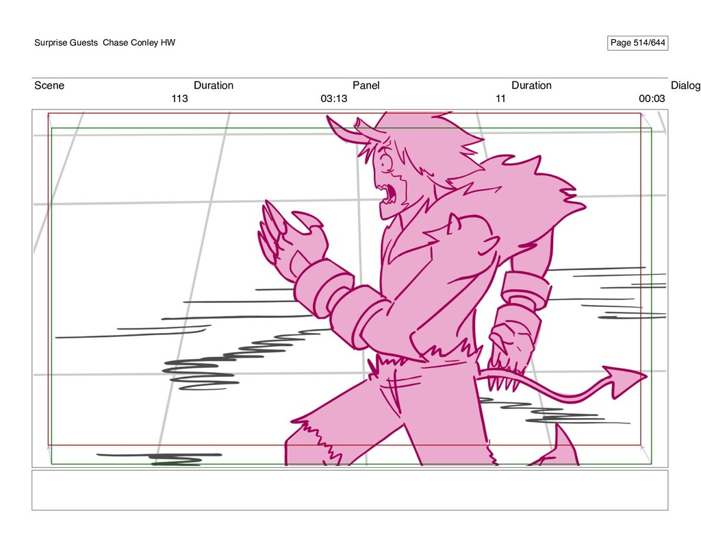 Scene 113 Duration 03:13 Panel 11 Duration 00:0...