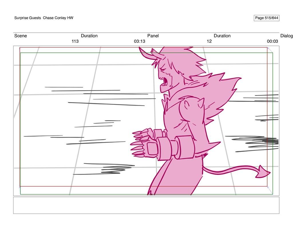 Scene 113 Duration 03:13 Panel 12 Duration 00:0...
