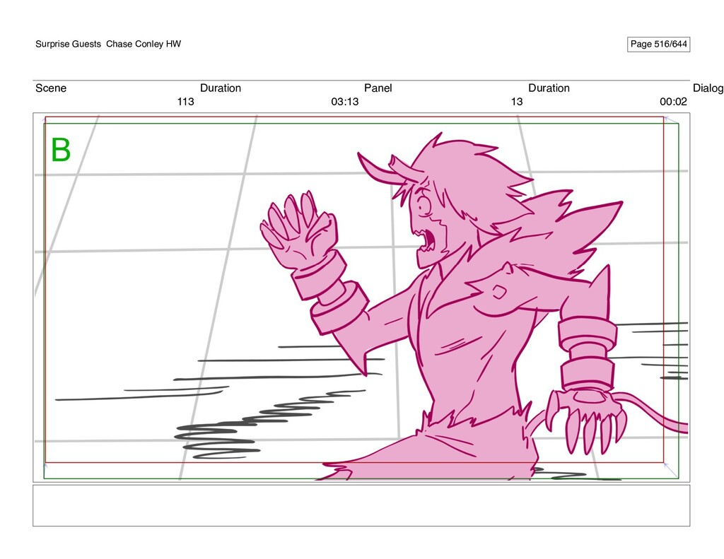 Scene 113 Duration 03:13 Panel 13 Duration 00:0...