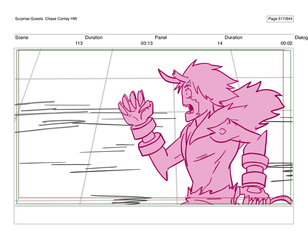 Scene 113 Duration 03:13 Panel 14 Duration 00:0...