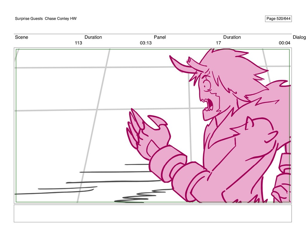 Scene 113 Duration 03:13 Panel 17 Duration 00:0...