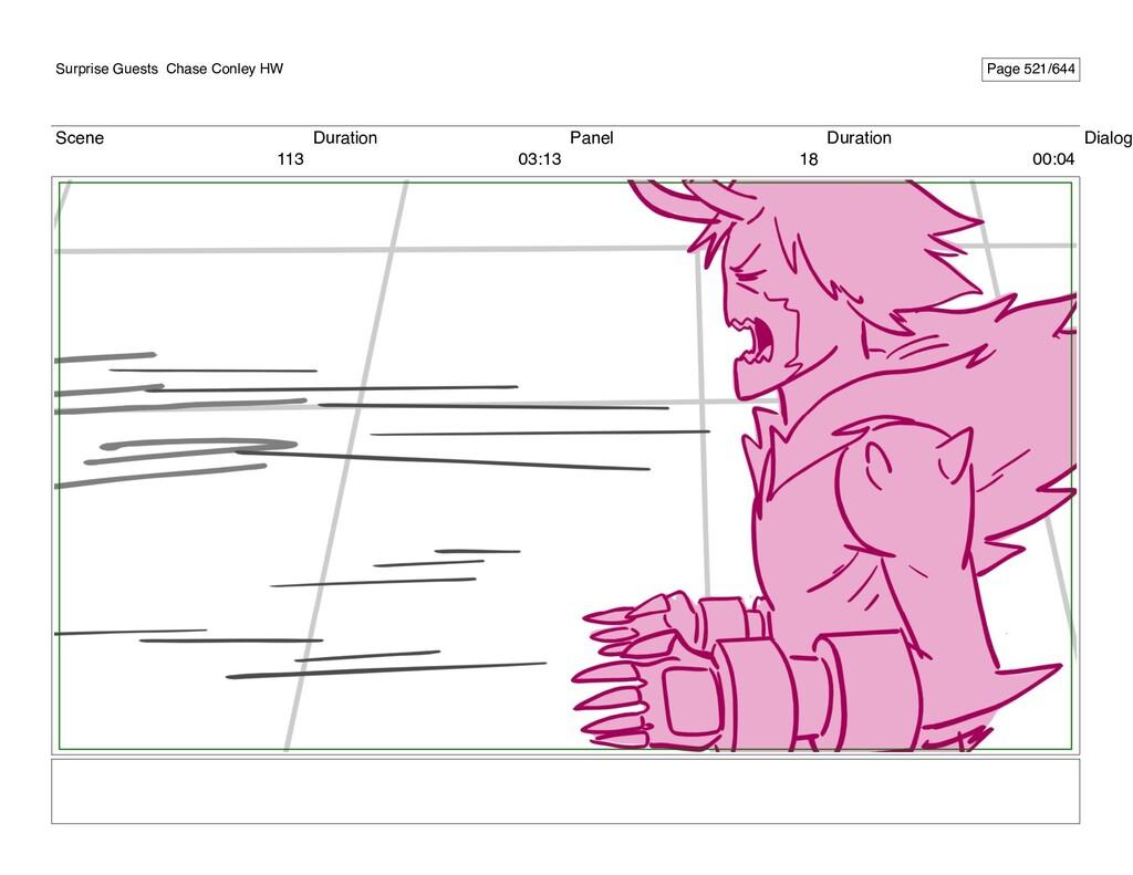 Scene 113 Duration 03:13 Panel 18 Duration 00:0...