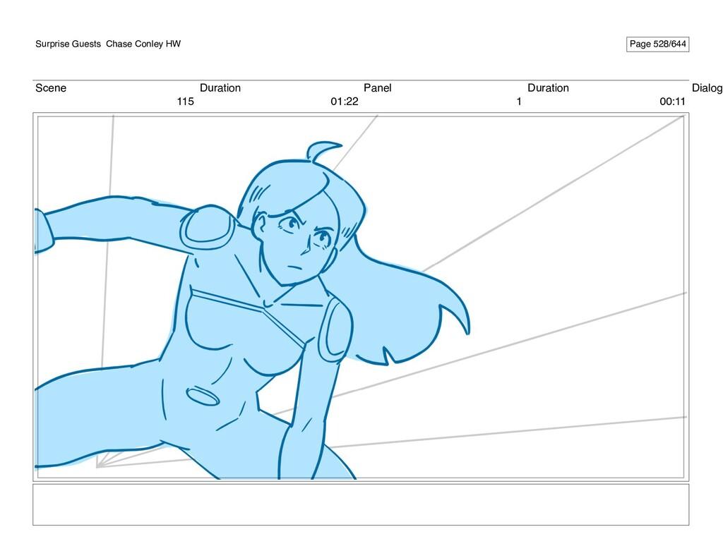 Scene 115 Duration 01:22 Panel 1 Duration 00:11...