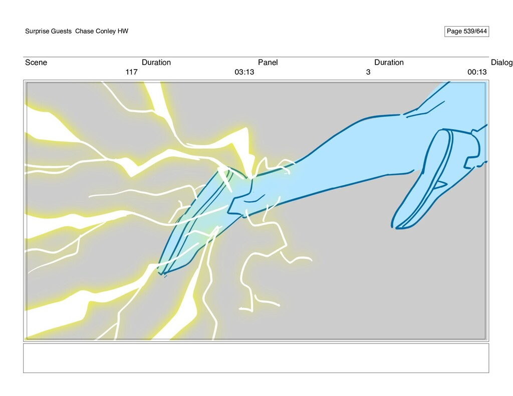 Scene 117 Duration 03:13 Panel 3 Duration 00:13...