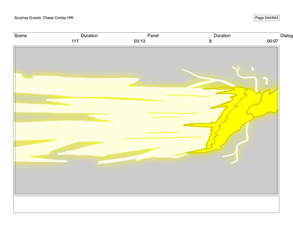 Scene 117 Duration 03:13 Panel 8 Duration 00:07...